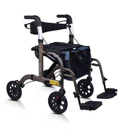 Evolution 2 in 1 Rollator Walker